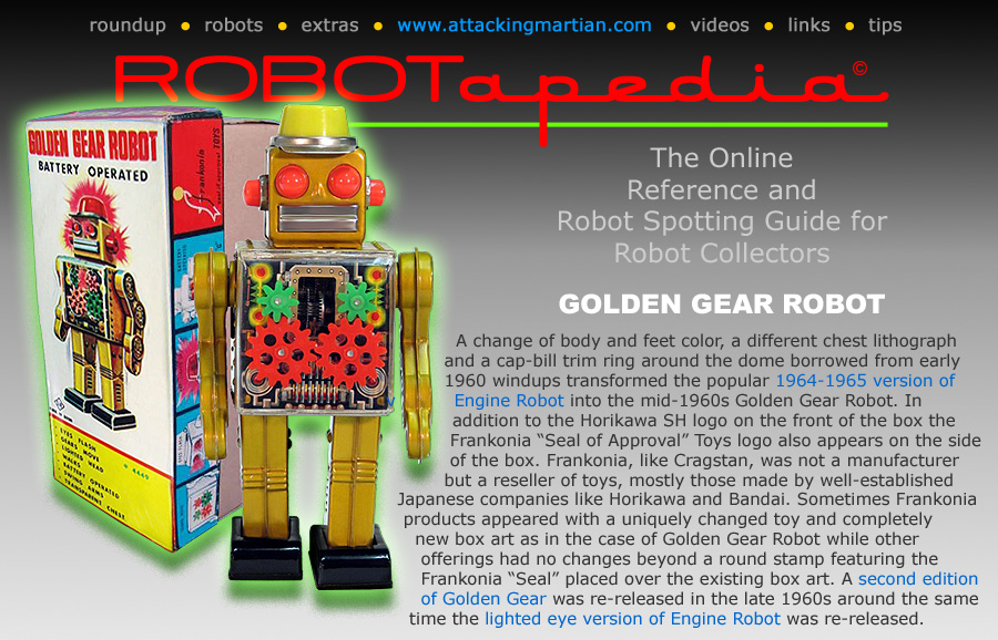 Horikawa Golden Gear Robot
