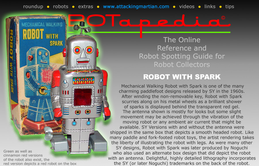 SY Robot with Spark