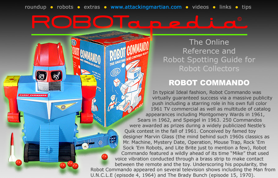 Ideal Toy Company Robot Commando